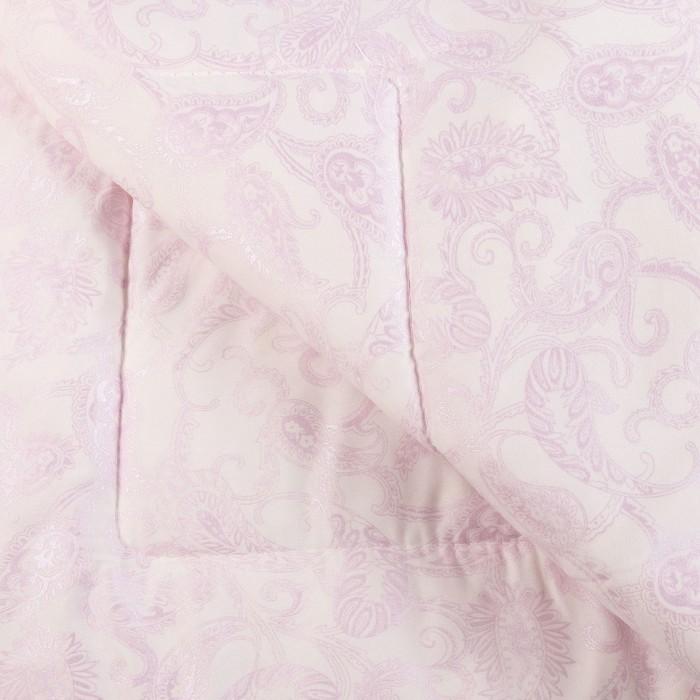 Одеяло Лебяжий пух 200х220 см, 150г/м2, чехол Глоссатин стеганный