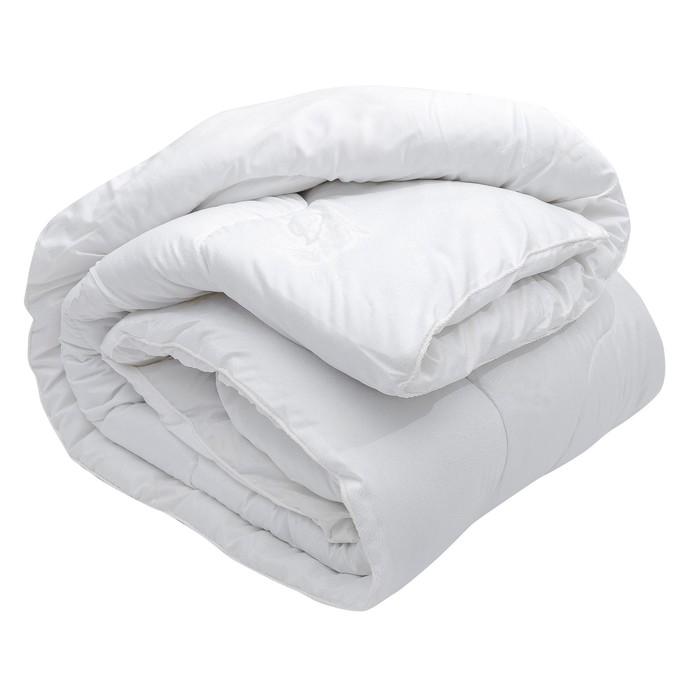 Одеяло зимнее 140х205 см, иск. лебяжий пух, ткань глосс-сатин, п/э 100%