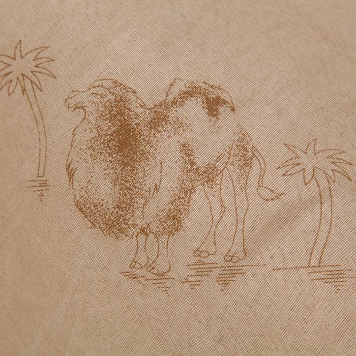 Одеяло «Верблюжка», 145х205 см, верблюжья шерсть/полиэфир, 200 гр/м2, поликоттон