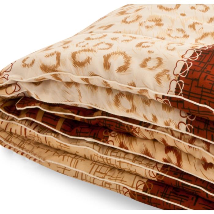 """Одеяло тёплое """"Золотое руно"""", размер 200х220 см, смесовая, микс"""