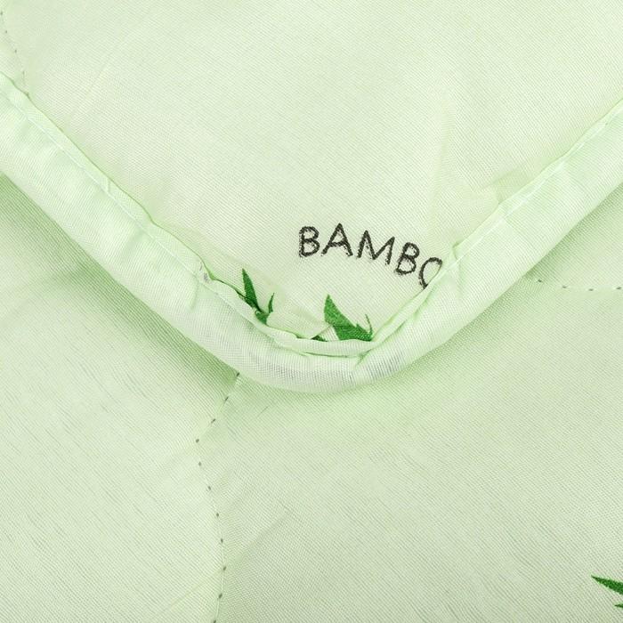 "Одеяло всесезонное Адамас ""Бамбук"", размер 200х220 ± 5 см, 300гр/м2, чехол п/э"