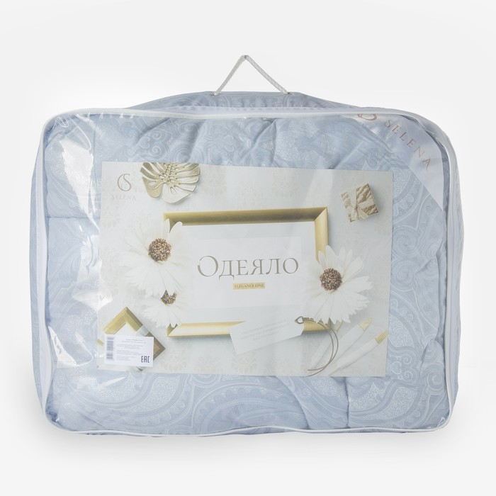 Одеяло  Elegance Line 140х 205 иск.лебяжий пух, пэ 350 гр/м2, пэ 100%