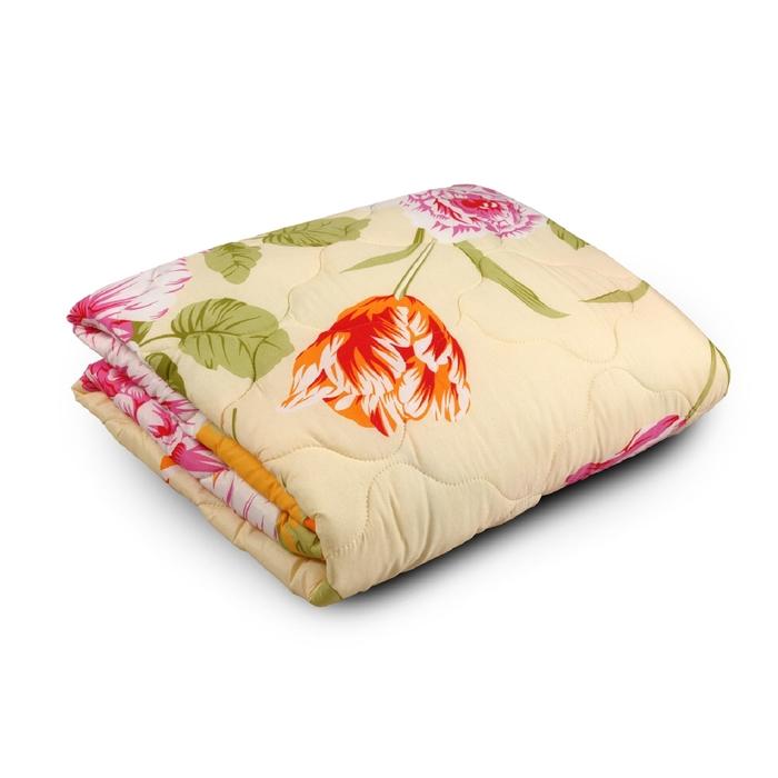 Одеяло облегченное Веста МИКС 220х205 см, 200г/м2, холлофайбер, ткань п/э 100%