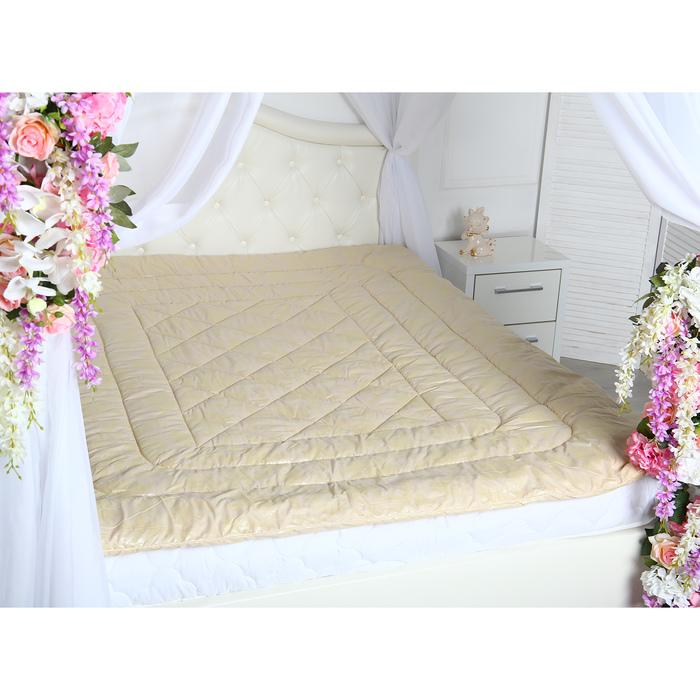 Одеяло «Овечка», Комфорт 175х205 см шерсть/иск.лебяжий пух, 150 гр/м2, микрофибра, пэ 100%