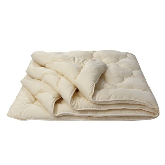 """Одеяло лёгкое """"Золотое руно"""", размер 200х220 см, силиконизированное волокно"""
