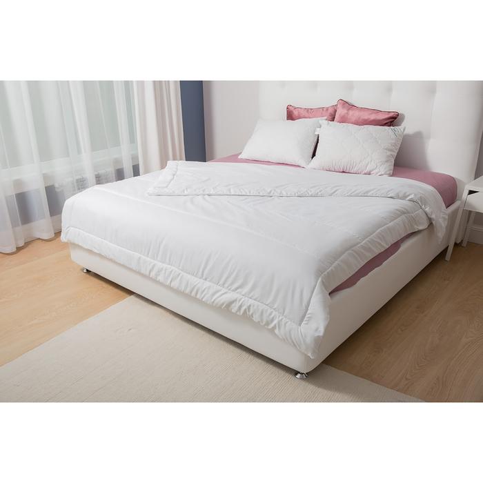 Одеяло 205*140 Life, белый, 100% Полиэфир. Несъемный чехол микрофибра 100% п/э