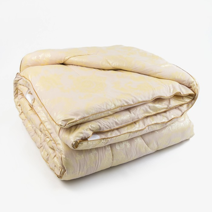 Одеяло Верблюд 200х220 см, 300г/м2, чехол Глоссатин стеганный