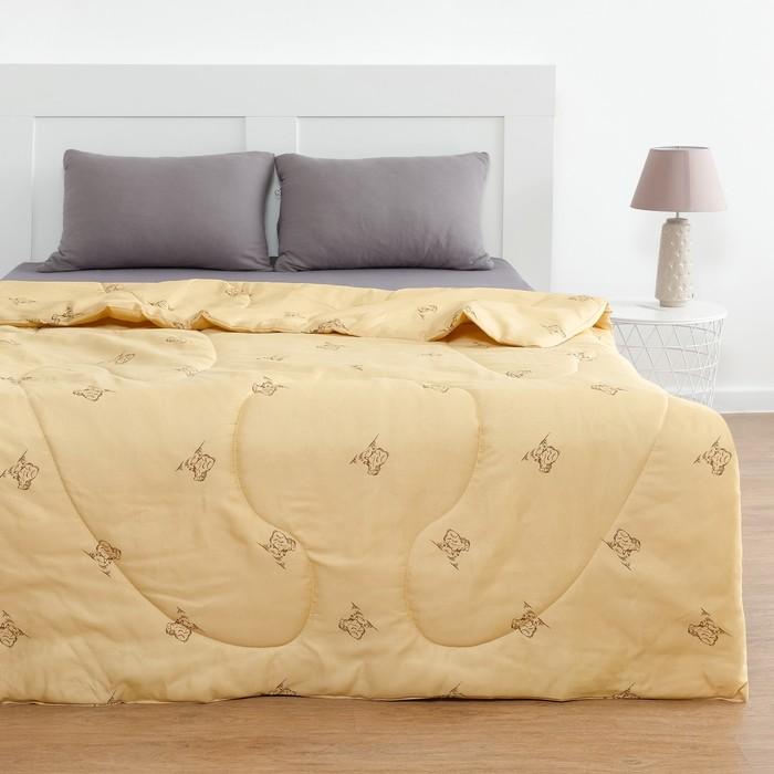 Одеяло Овечья шерсть 172x205 см, полиэфирное волокно 200 гр/м, пэ 100%
