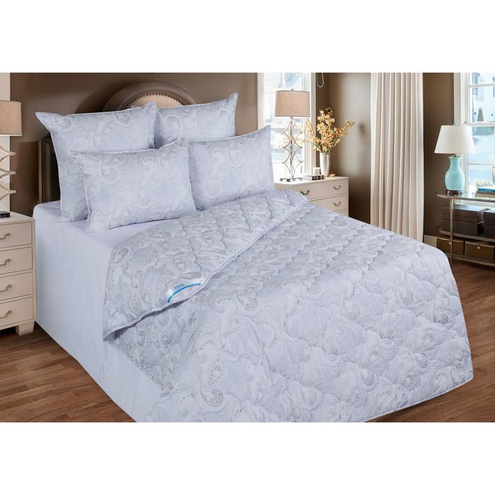 Одеяло 140х205 см, иск. лебяжий пух, ткань тик, п/э 100%