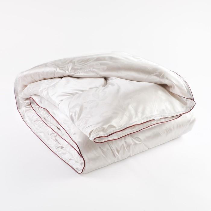 Одеяло Версаль 1,5 сп 140х205 см, иск. лебяжий пух, трикот, 100% пэ