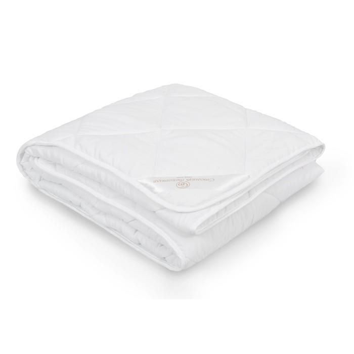 Одеяло стёганое «Эвкалипт», 172х205 см, чехол микрофибра, наполнитель эвкалипт/полиэстер (300 г/м2)