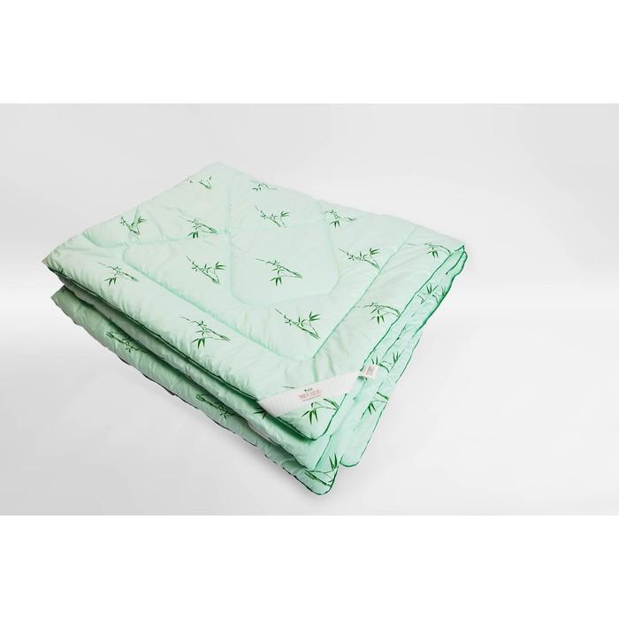 Одеяло Миродель теплое, бамбуковое волокно, 200*220 ± 5 см, микрофибра, 250 г/м2