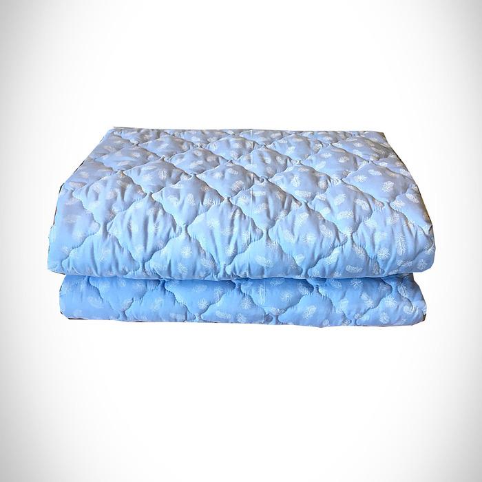 Одеяло Лебяжий пух 200х215 см 300 гр, политик, чемодан