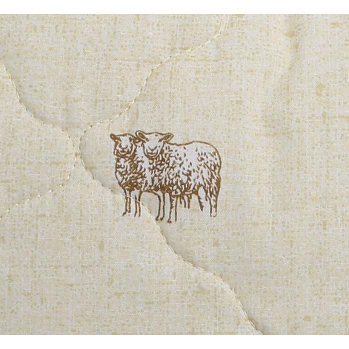 """Одеяло всесезонное """"Овечья шерсть"""", размер 140х205 см"""