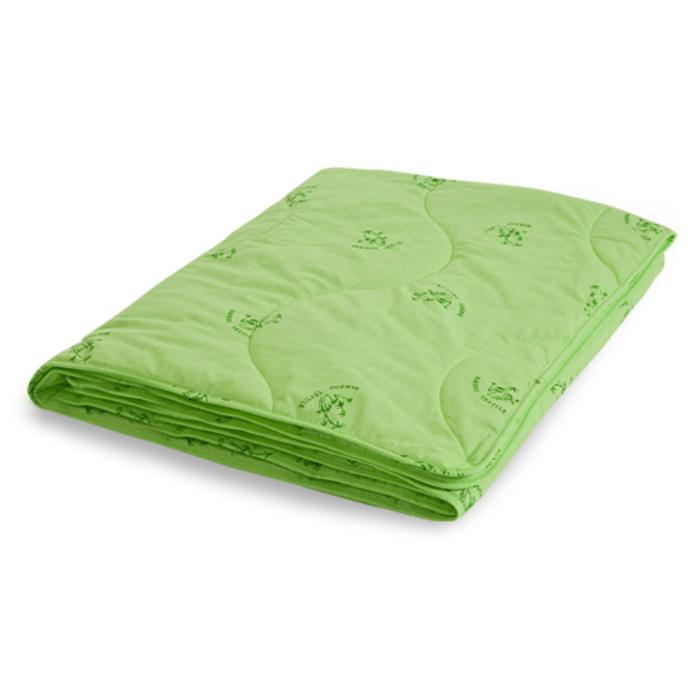 """Одеяло лёгкое """"Бамбук"""", размер 172х205 см, поплин, салатовый"""