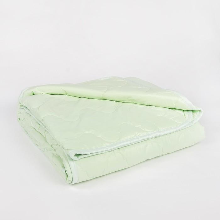 "Одеяло всесезонное Адамас ""Эвкалипт"", размер 140х205 ± 5 см, 300гр/м2, чехол тик"