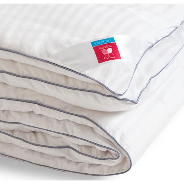 "Одеяло лёгкое ""Элисон"", размер 110х140 см, сатин, белый"
