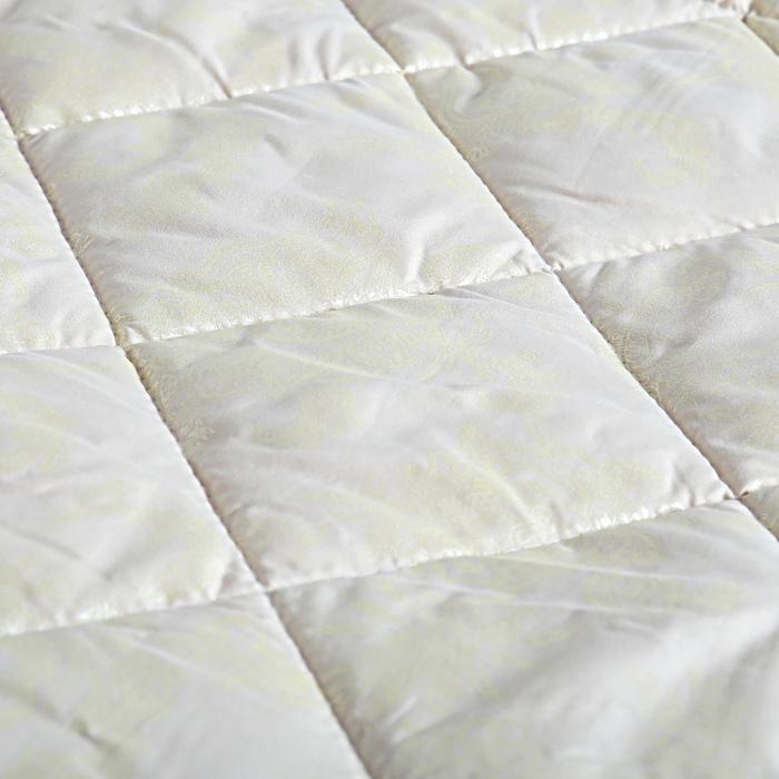 Одеяло Овечка Комфорт 200х220 см, шерсть/иск.лебяжий пух 150 гр/м2, микрофибра, пэ 100%