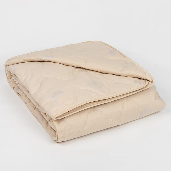 """Одеяло всесезонное Адамас """"Овечья шерсть"""", размер 140х205 ± 5 см, 300гр/м2, чехол тик"""