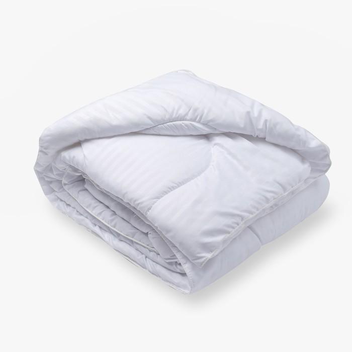 Одеяло Лебяжий пух 172х205 см, файбер, п/э 100%
