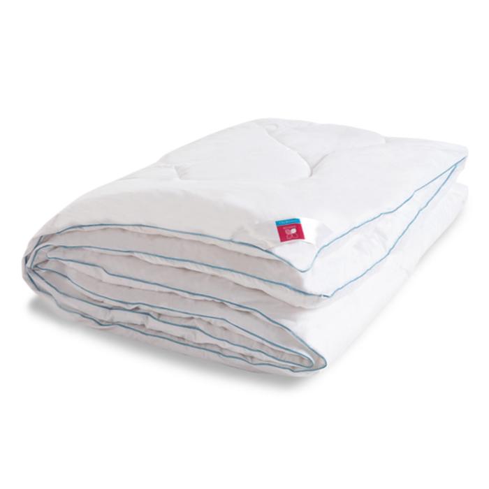 "Одеяло тёплое ""Лель"", размер 140х205 см, тик, белый"