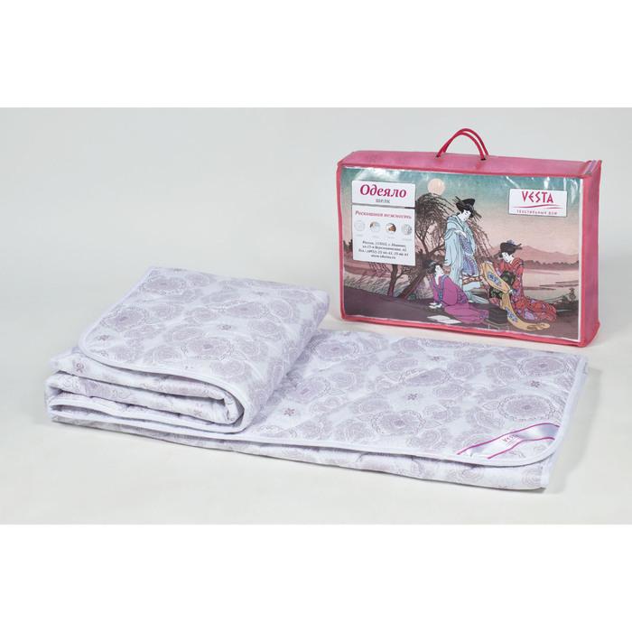 Одеяло зимнее 220*205,ОШТ-20, шелкопряд,ткань тик, п/э
