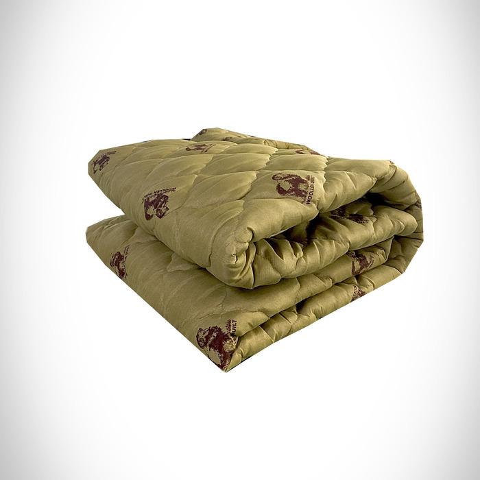 Одеяло Овечья шерсть 172х205 см 150 гр, пэ, конверт