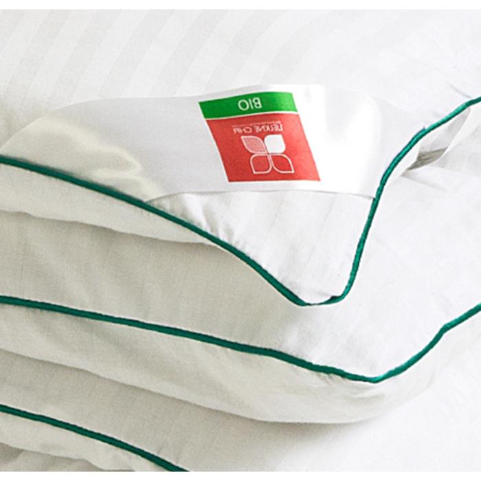 """Одеяло тёплое """"Бамбоо"""", размер 140х205 см, сатин, белый"""