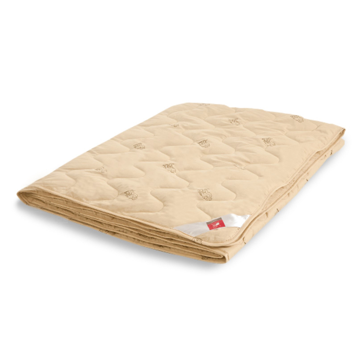 """Одеяло лёгкое """"Верби"""", размер 172х205 см, тик, бежевый"""