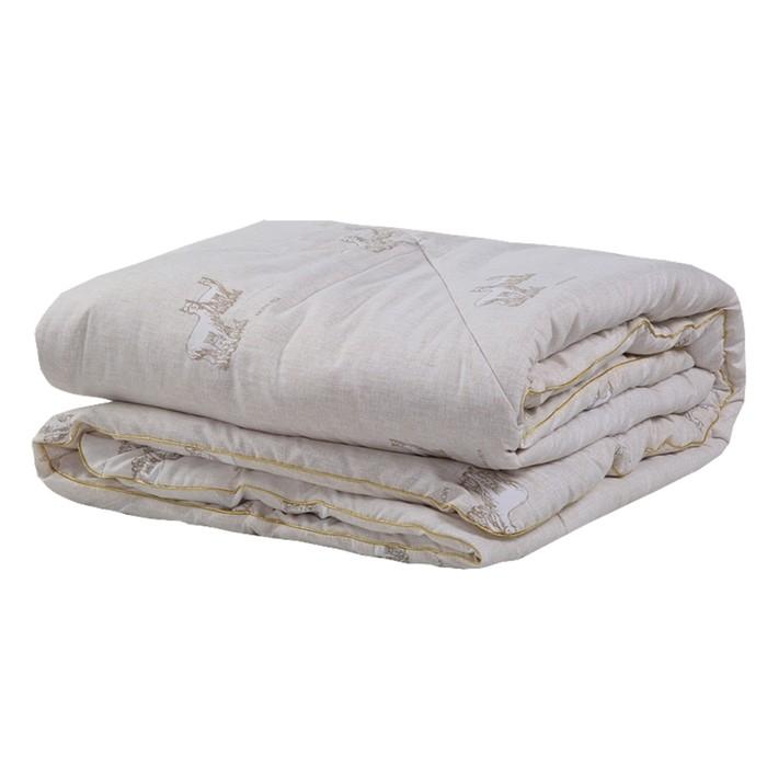 Одеяло «Шерсть Альпаки», размер 140х205 см, искусственный тик