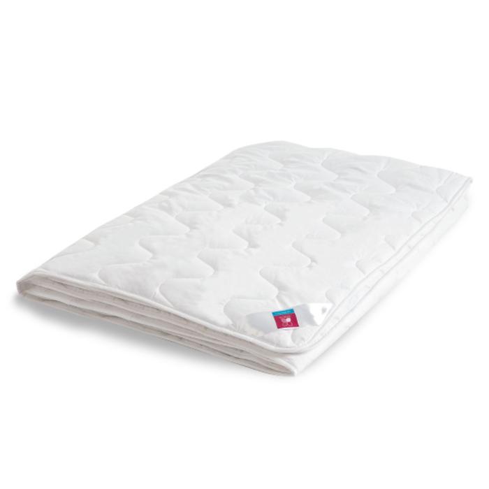 """Одеяло лёгкое """"Лель"""", размер 200х220 см, тик, белый"""