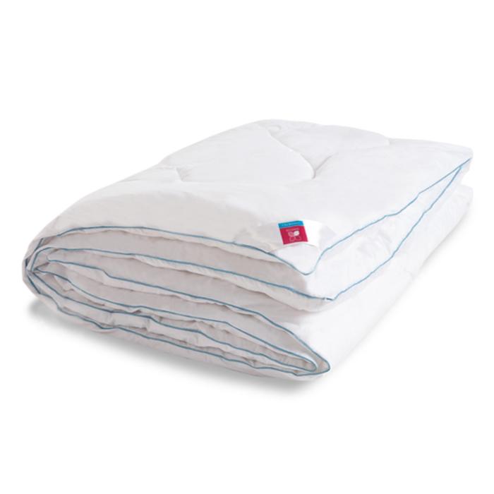 "Одеяло тёплое ""Лель"", размер 200х220 см, тик, белый"