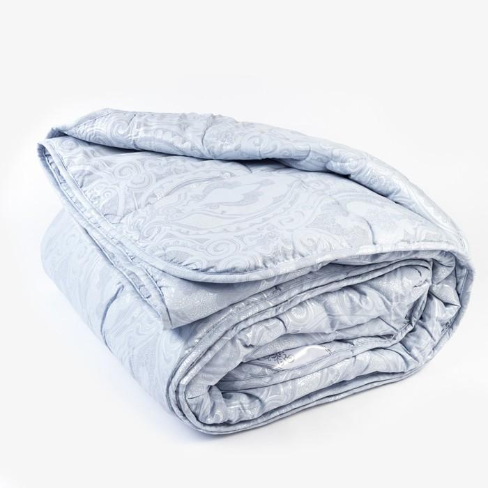 Одеяло всесезонное «Лебяжий пух», 200х205 см, тик, микроволокно, смесовый тик