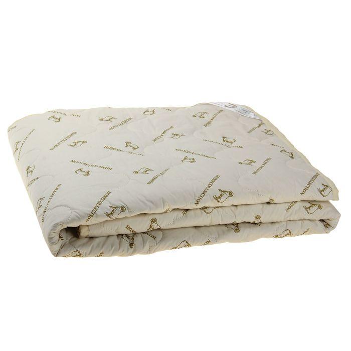 """Одеяло """"Этель"""" Овечья шерсть 172*205 см, тик, 300 гр/м2"""