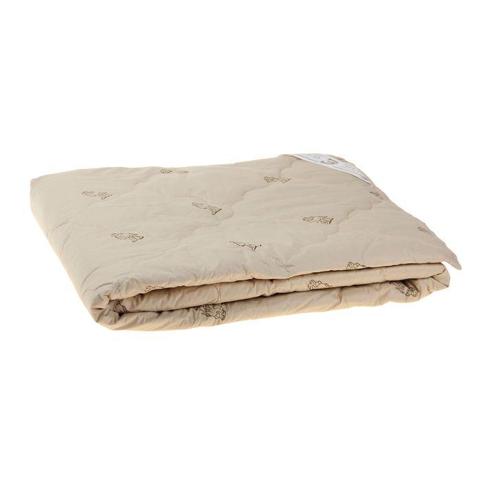 """Одеяло """"Этель"""" Верблюжья шерсть 172*205 см, тик, 300 гр/м2"""