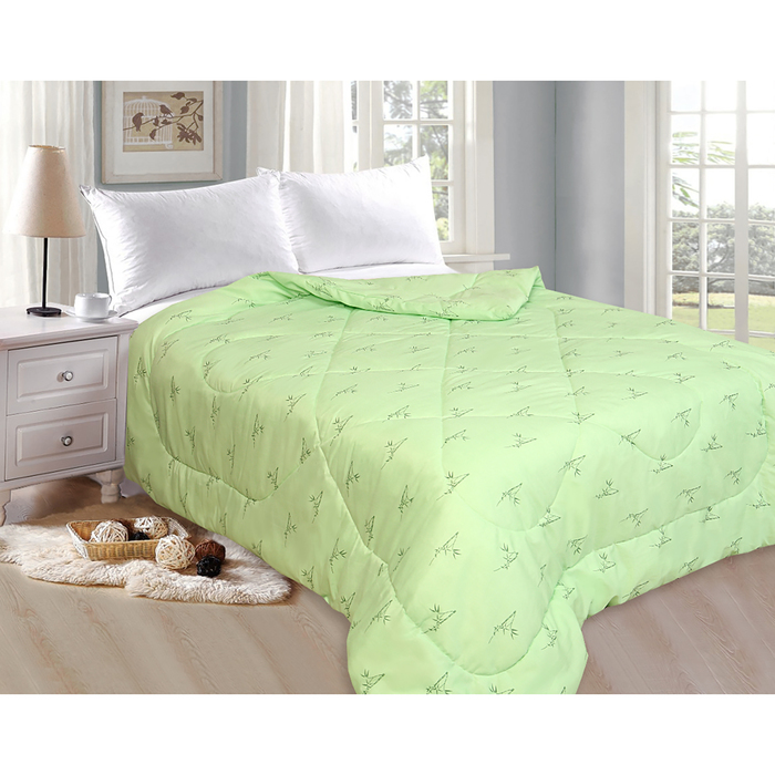 Одеяло «Бамбук», 175х205 см, бамбуковое волокно/полиэфир, 200 гр/м2, пэ 100%