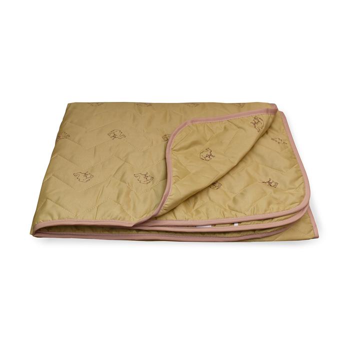 Одеяло Верблюд стеганое облегченное 172х205 см, полиэфирное волокно 150 гр/м2, п/э 100%