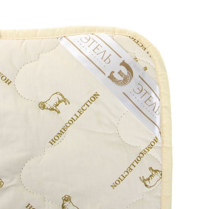 """Одеяло """"Этель"""" Овечья шерсть 200*220 см, тик, 300 гр/м2"""