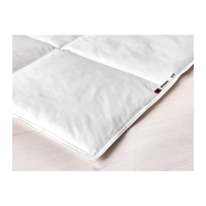 Одеяло прохладное ХЭНСБЭР, размер 200х200 см, пух/перо