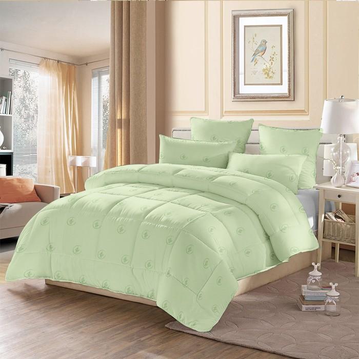 Одеяло стёганое «Бамбук», 172х205 см, чехол полиэстер, наполнитель бамбук (110 гр/м2)