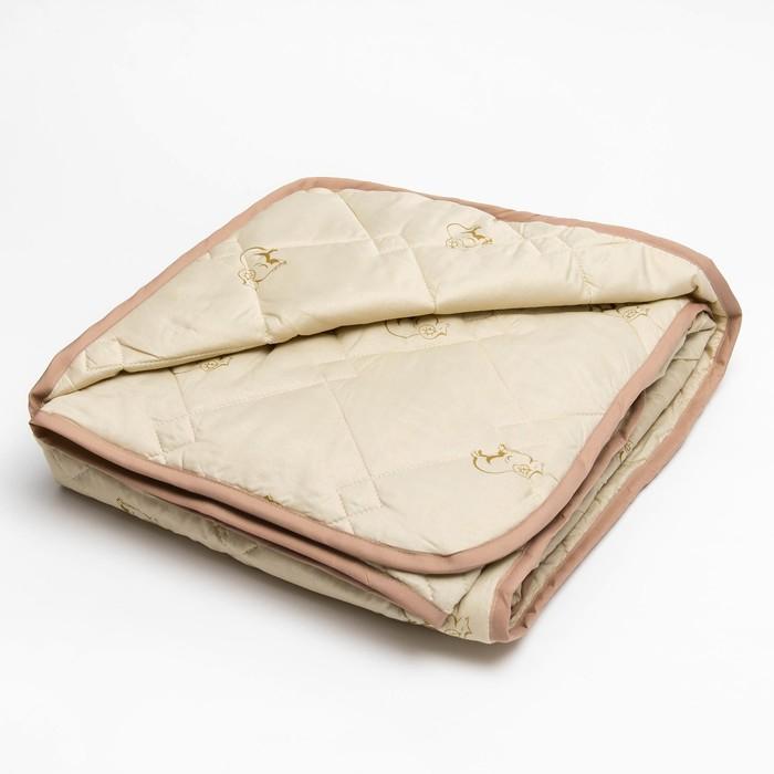 Одеяло 140*205 полиэстер, овечья шерсть 150г/м, сумка, МИРОМАКС