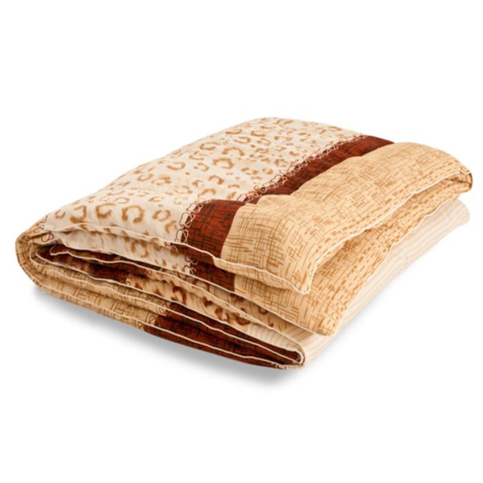 """Одеяло тёплое """"Золотое руно"""", размер 140х205 см, смесовая, микс"""