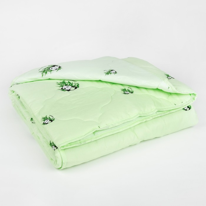 "Одеяло облегчённое Адамас ""Бамбук"", размер 172х205 ± 5 см, 200гр/м2, чехол п/э"
