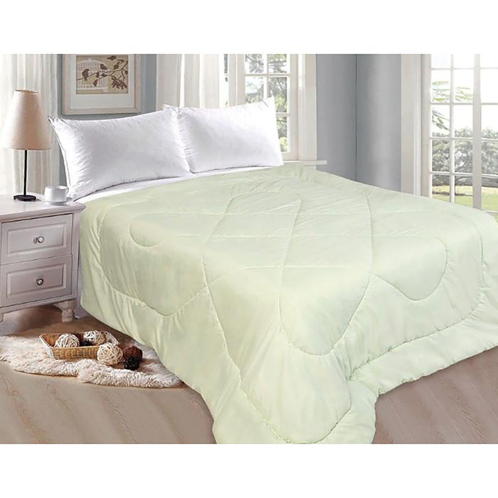 Одеяло Бамбук 175х205 см бамбук.волокно/полиэфирн.волокно 200 гр/м, полисатин, пэ 100%