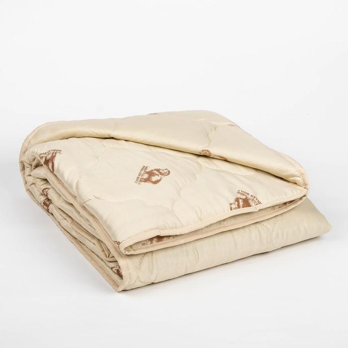 """Одеяло всесезонное Адамас """"Овечья шерсть"""", размер 140х205 ± 5 см, 300гр/м2, чехол п/э"""