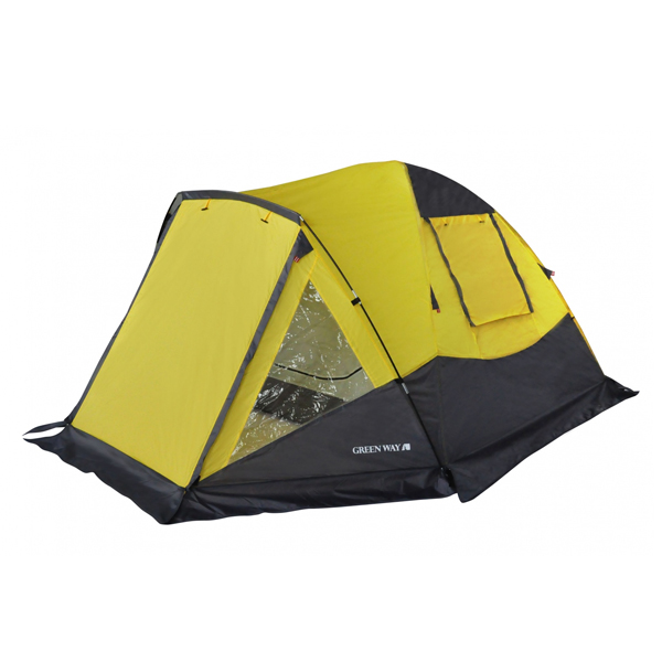 Палатка трехместная Green Way Жетысу (100418/3)