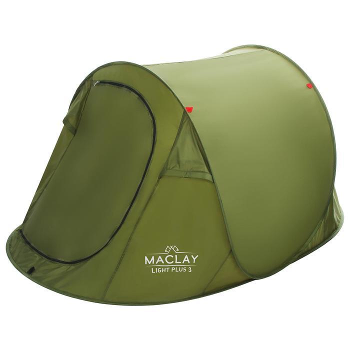 Палатка Maclay Light Plus 3, 280 х 180 х 95 см