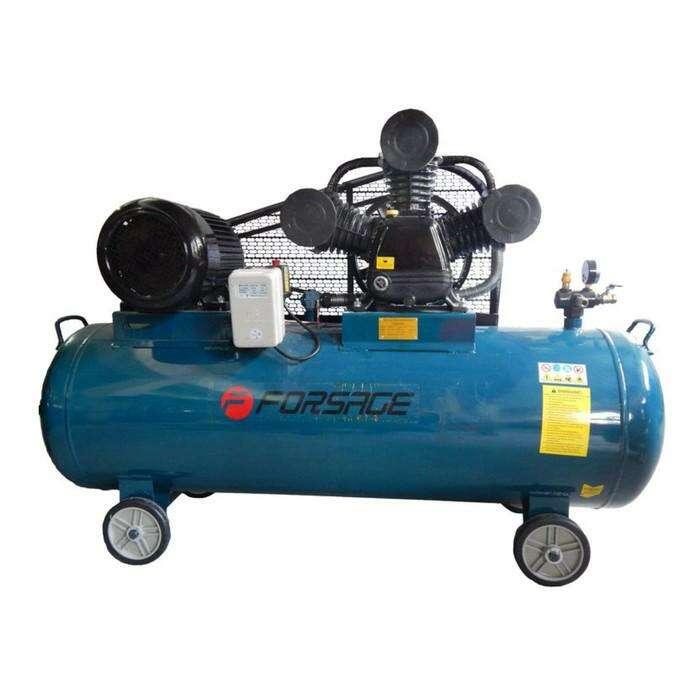 Компрессор Forsage F-TB290T-500, 3-х поршневой, 7.5 кВт, 500 л, 750 л/м, 380В, 12.5 бар