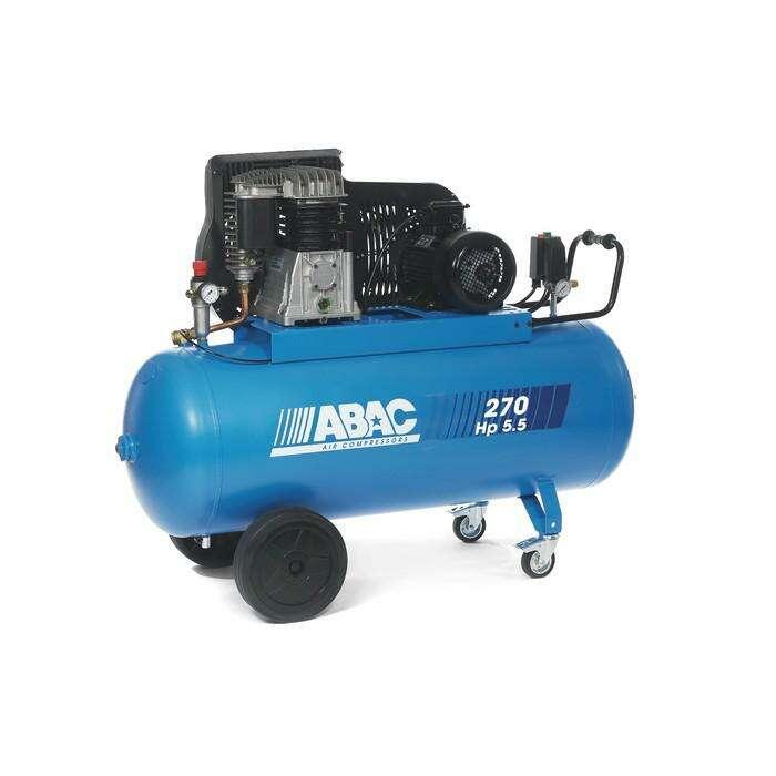 Компрессор ABAC B5900B/270 CT5.5, ременной, 653 л/мин, 270 л, 11 бар, 4 кВт, 380 В, рапид