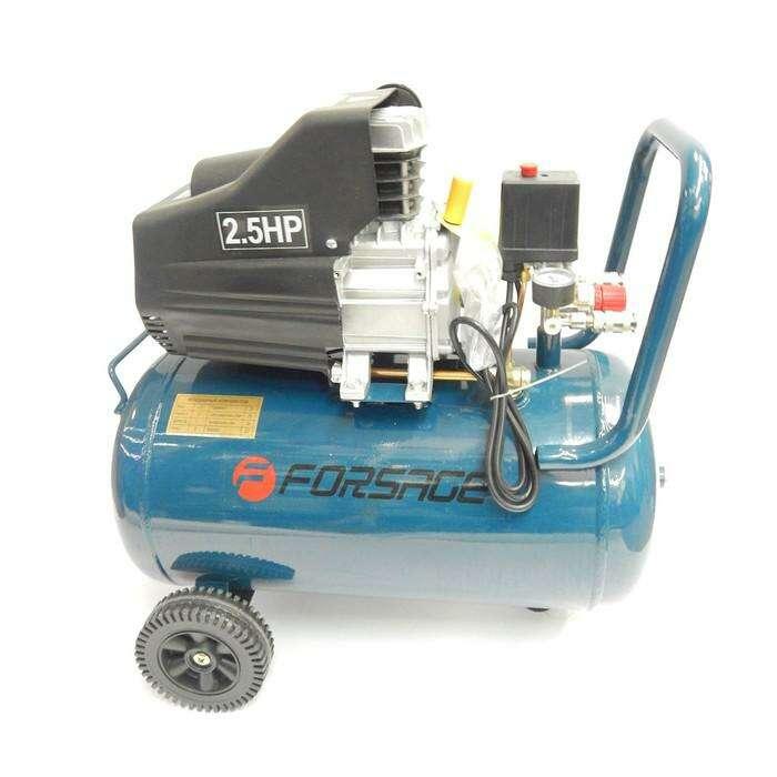 Компрессор Forsage F-BM25/50, поршневой с прямым приводом, 1.86 кВт, 50л, 180 л/м, 8 бар
